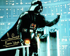 Dave PROWSE SIGNED Autograph Darth VADER Star Wars 10x8 Gold Photo C AFTAL COA