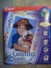 Canon Family Fun Personalized GREETING CARDS kit