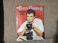 Ben Casey Coloring Book 1963 Saalfield