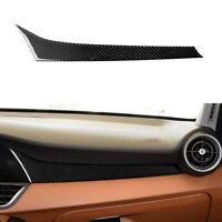 For Alfa Romeo Giulia 2017-19 Carbon Fiber Interior Dashboard Console Trim Cover