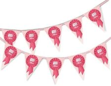 Happy Mothers Day Bunting Banner - World's Best Mum - 15 flags by PARTY DECOR