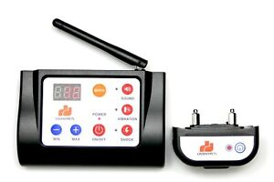 Remote Dog Training Collar & Wireless Electronic Containment Fence System Combo