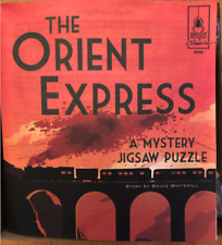 The Orient Express Mystery Jigsaw Puzzle