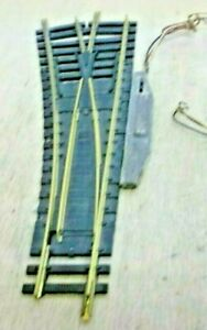 Fleischmann H0 6044 Electromagnetic Points Left Tested