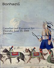 Catalogue Vente Art Canadien Canadian The Cole Collection Bonhams June 19 2008