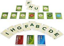 Mattel Y9741 Scrabble Dash Karten Spiel Mitbringspiel Klassiker Spielkarten NEU