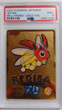 Ledyba Meiji Promo PSA 9 Mint Gold Foil Holo Rare Pokemon Card