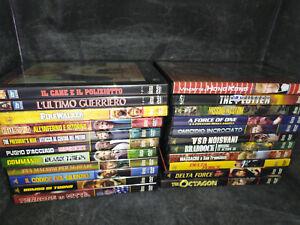 collezione dvd chuck norris hobby & work 22 dvd anche nuovi