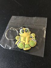 NEW YAMAHA VR46 Green & Yellow Turtle keychain Rubber. VR46