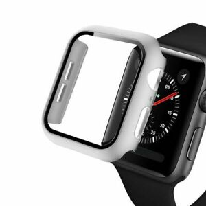 38/40/42/44mm Apple Watch Cases Covers + Screen Protectors Iwatch Series 123 456