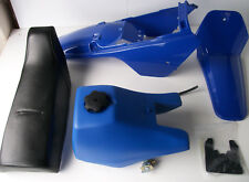 New YAMAHA PW80 1996-2014 Gloss Blue Plastics Kit Mudguard Tank Seat PW 80 TAP