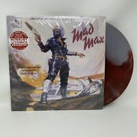 Mad Max Soundtrack Vinyl Record LP Red & Grey Haze Color Variant Limited Edition