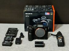 Sony a7 III 24.2 MP Mirrorless Camera - Black (body bundle, with extras)