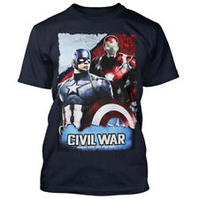 Capitan America & Iron Man t-shirt-whose side are you on