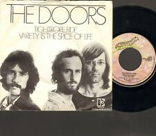 """DOORS Tightrope Ride 7"""" SINGLE Variety is the Spice of Life 1971 NEGRAM Holland"""