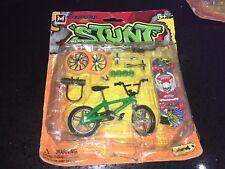 Stunt Finger Bike & Skateboard Set W/ Accessories Toy Kids Play DAMAGE PACK