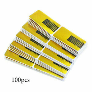 Nail Forms Nail Art Stickers Adhesive Extension Guide Acrylic Tips UV Gel Tool