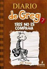 Diario de Greg Ser.: Tres No Es Compania Vol. 7 by Jeff Kinney (2013, Hardcover)