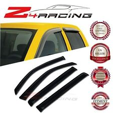 For 2009-2013 Honda Pilot Vent Shade Guard Window Visors Deflector Smoke 4PC