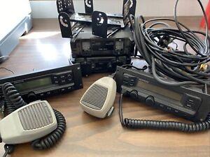 Kenwood TK-790 remote heads with Krk-5 & krk-3dh radio includes cables & mics