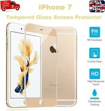 Full Rounded Tempered Glass Film Screen Saver Protector For iPhone 7 GOLD