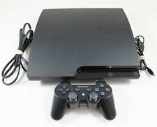 PS3 Slim System 160Gb (Model Cech-3001A)