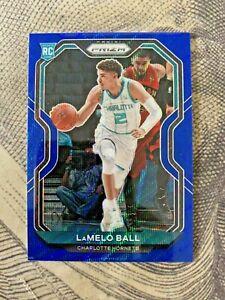 2020-21 Panini Prizm Lamelo Ball Asia Exclusive Blue Wave Prizm SP No.2