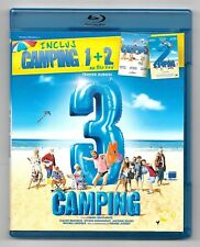 2 BLU-RAY DISC / CAMPING 1 + 2 + 3 L'INTEGRALE - FRANK DUBOSC / COMME NEUF