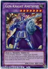 HA06-EN047 Gem-Knight Amethyst Secret Rare 1st Edition Mint YuGiOh Card