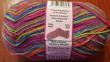 Opal Sock Yarn #9643 Handwerk & Hobby Collection 100g Bright Colours Mix
