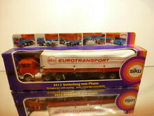 SIKU 3412 MERCEDES BENZ 2232 TRUCK+TRAILER EUROTRANSPORT 1:50?- EXCELLENT IN BOX