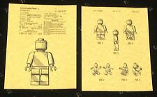 "PATENT ART PRINT 8.5"" X 11"" READY TO FRAME LEGO MINIFIGURE"