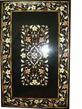 """60"""" x 36"""" Marble center Table Top pietra dura marquetry floral Inlay art work"""