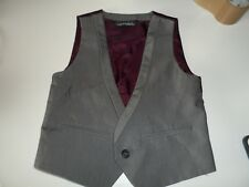 boys next 2-3 years grey waist coat