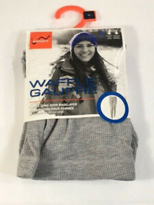 Watson's Womens Medium Thermal Baselayer Pant - Heather Gray