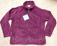 NWT! COLUMBIA Benton Springs Full Zip Fleece Jacket-Wmn's 2X-Plum Purple