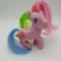 2005 My Little Pony Crystal Princess Wind Drifter Raised 3D Butterfly Figure Toy