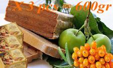Pastila Baked Apples+ Sea Buckthorn 600g Natural Traditional Rus Fruit Sweetness