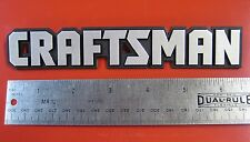 "Craftsman Tool Box Badge 6 5/8"" Chest Cabinet Toolbox Emblem Decal Sticker Logo"