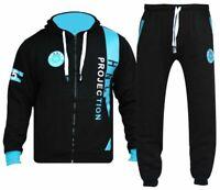 Mens HNL Tracksuit Joggers Hoodie Sweats Sweatshirt Pants Bottoms Plus All Sizes