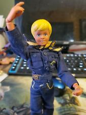 "Vintage 1970s CUB SCOUT Boy Action Figure Doll 9"" Kenner Toys dressed with shoes"