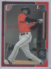 2015 Bowman Isaiah White RC Rookie Card RED PAPER 5/5 ebay 1/1 SP Marlins