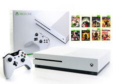 Microsoft XBOX ONE Console S 2tb bianco + controller + gioco 2000gb usk18
