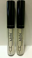 NYX Pump It Up Lip Plumper PIU03 Liv Clear Peptides Collagen Plumping LOT OF 2