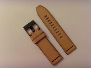 Diesel Original Spare Band Leather Wrist DZ1860 Watch Braun 24 MM Strap