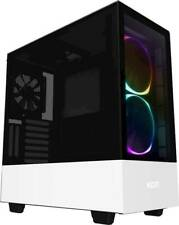 NZXT - H510 Elite Compact ATX Mid-Tower Case with Dual-Tempered Glass - Matte...