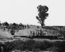 Union Dictator 13 Inch Mortar Cannon Petersburg Virginia 8x10 US Civil War Photo