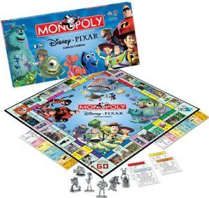 Monopoly Disney Pixar Special Edition Board Game Replacement Parts & Pieces 2005