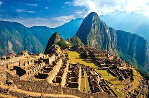 1000 Pieces Adult Puzzle Set Machu Picchu Inca City Ruin Jigsaw Difficult Puzzle