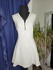 Tail Tech Tennis Golf Dress White Sleeveless Size Small